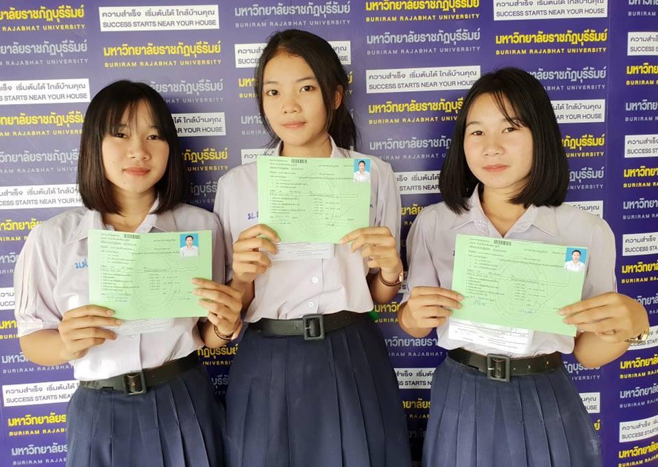 บรรยากาศการรายงานตัวนักศึกษาใหม่ ระดับปริญญาตรี ภาคปกติ รอบที่ 1 รับด้วยแฟ้มสะสมผลงาน (Portfolio) ประจำปีการศึกษา 2562